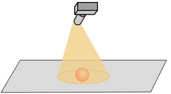 illust:Scanning of Area Sensor